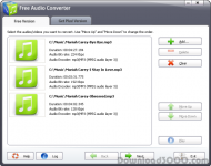Free Audio Converter 2014 screenshot